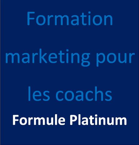 Formation marketing pour les coachs formule platinum