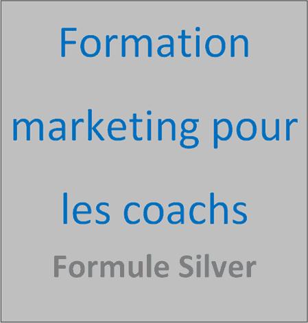 Formation marketing pour les coachs formule silver