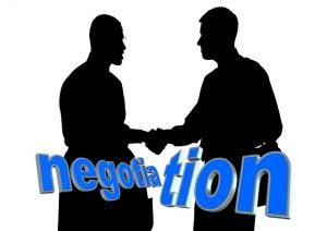 Préparer chacune des étapes de la négociation de départ